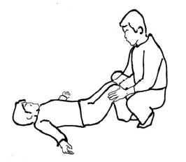 膝曲げ検査(膝前面検査)
