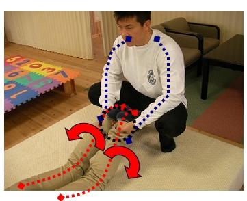 腰痛回復法/椎間板に問題がある場合手順その2